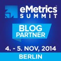 Die eMetrics Summit findet 2014 in Berlin statt