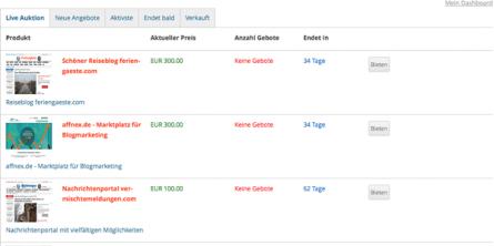 Webseiten verkaufen - Webseiten kaufen und verkaufen