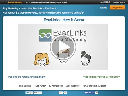 Everlinks.net stellt seinen Betrieb ein