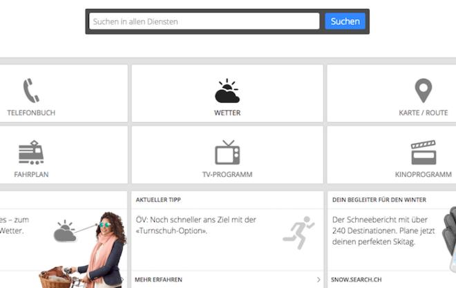 searchch 660x417 - Suchmaschine search.ch mit neuen Funktionen