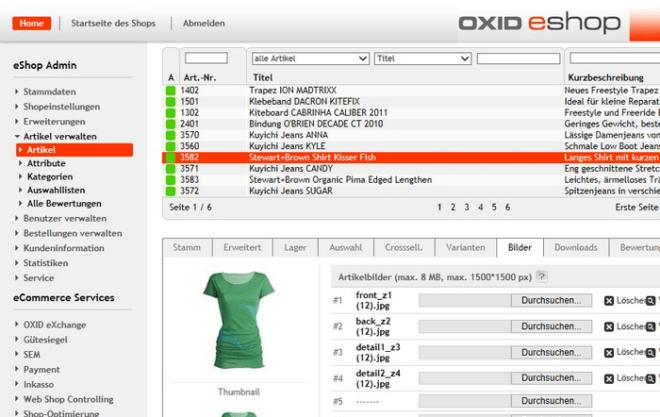 Oxid eShop 660x417 - OXID eShop – für einen erfolgreichen Online Shop